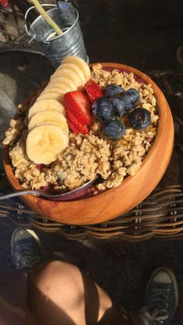 Acai bowl at Island Brew coffeehouse