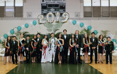 Homecoming 2019: tuxedoes and dresses replace center-court games as school returns to tradition.
