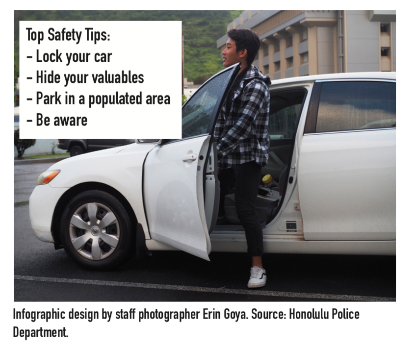Students may not realize the importance of personal safety