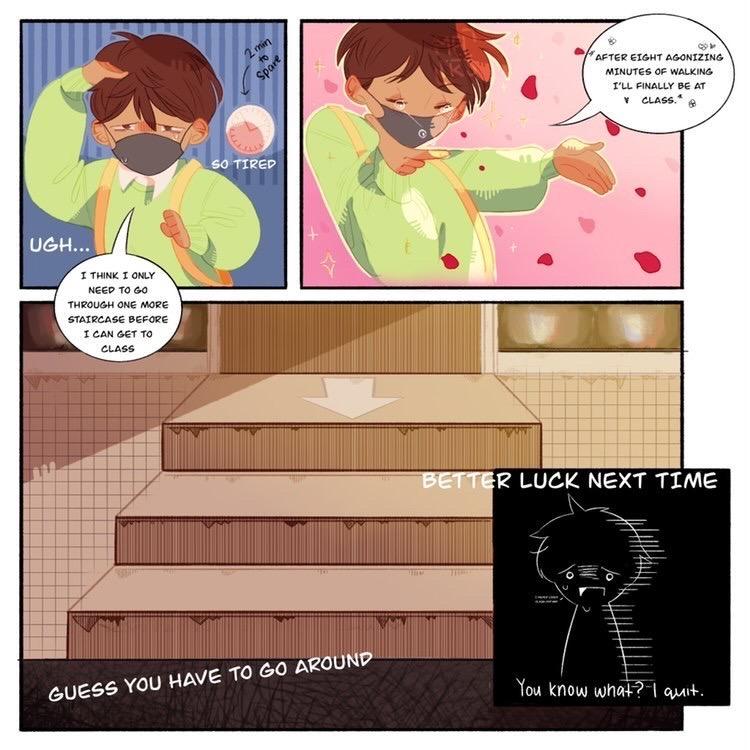 Comic Strip: Back to School