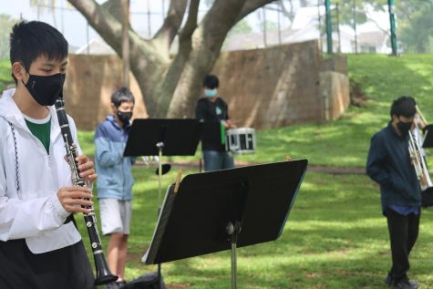 Mid-Pacific band returns to play with new precautions